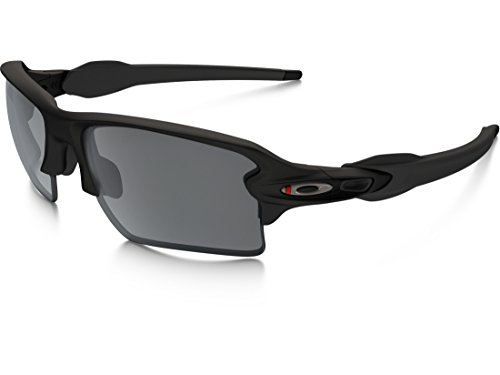 Oakley Flak Jacket 2.0 XL Sunglasses – Men's Satin Black/Black Iridium, One Size Review