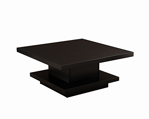 ioHOMES Celio Square Coffee Table, Black