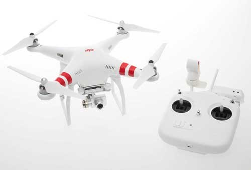 DJI Phantom 2 Vision+ Quadcopter with FPV HD Video Camera and 3-axis Gimbal and Free Extra Battery