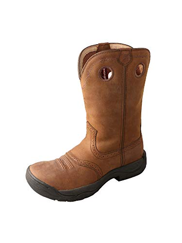 Twisted X Men's All Around Boot Distressed Saddle 10.5
