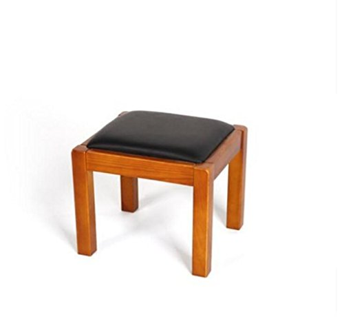 - XMXYJUDT LYX Sofa Stool Furniture Ash New Chinese Style Leather Solid Wood Child Low Stool Household True Color Square Tea Table Stool Stool Chair Footstool Living Room Shoe Bench Bench 320280260mm