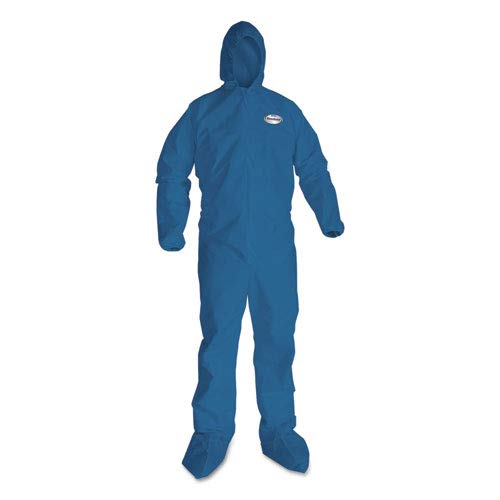 PK20 Hooded Disp Blue 3XL Coveralls