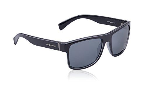 Swiss Eye Avenue lunettes de sport  taille unique Noir - Noir brillant