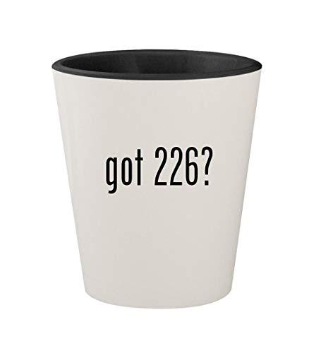 got 226? - Ceramic White Outer & Black Inner 1.5oz Shot ()
