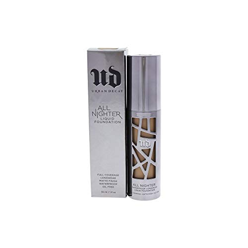 New All Nighter Full Coverage Liquid Foundation - Shade 7.0