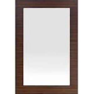 James Martin Metropolitan 30'' Mirror in American Walnut by James Martin Furniture