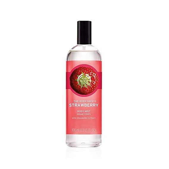 The Body Shop Body Mist, Strawberry, 100ml