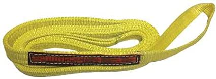 3200 lb Cap Eye /& Eye Web Sling 8 ft L