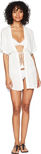Lauren Ralph Lauren Women's Crinkle Rayon Dress Cover-up White (Crinkle Cover Up)
