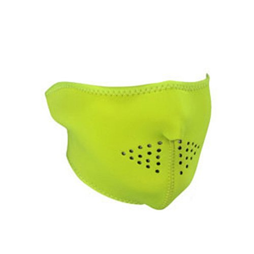 UPC 794777392795, HALF MASK, NEOPRENE, HIGH-VISIBILITY LIME