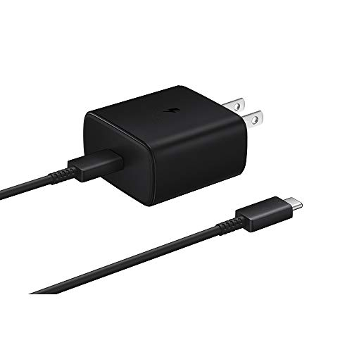 Samsung Official 45W USB-C Super Fast Charging Wall Charger (Black)
