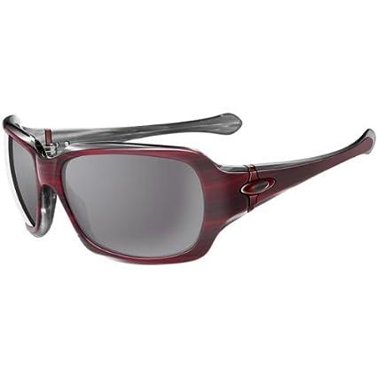 d197f024cd7 Amazon.com  Oakley Script Women s Asian Fit Active Lifestyle Racewear  Sunglasses - Color  Cherry on Top Grey