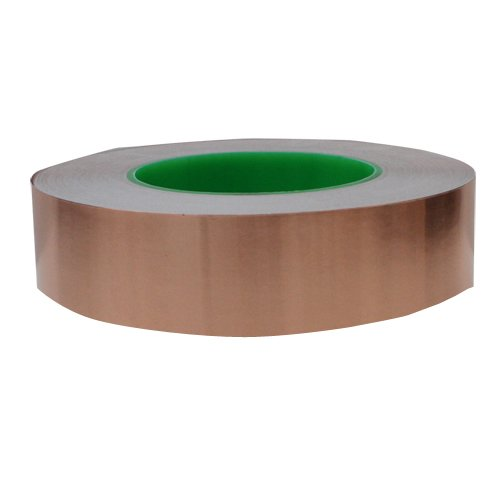 1.5 inch x 55 yds Copper Foil Tape - (38mm x 50m) - EMI Shielding Conductive Adhesive