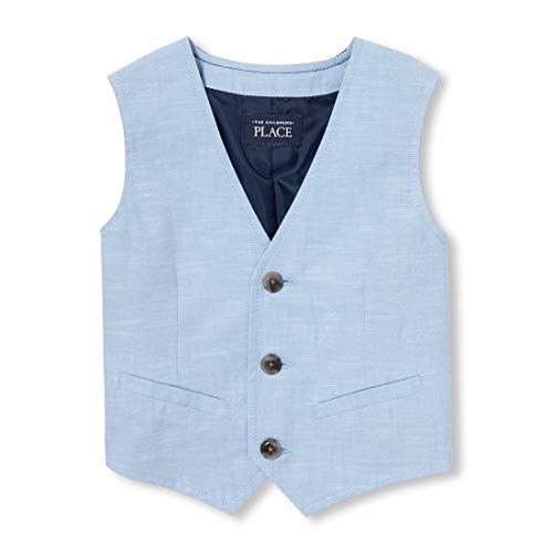 - The Children's Place Baby Boys Solid Waistcoat, Ocean Front, 6-9MONTHS