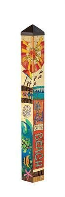 Studio M - Peace, Love, and Sunshine 3' Art Pole - PP256 (Pole Love)