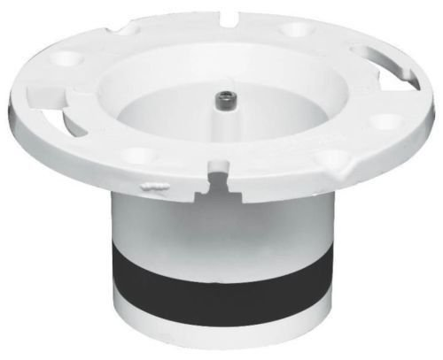 (New Oatey 43539 Usa Made Pvc Cast Iron Replacement Closet Toilet Floor Flange)