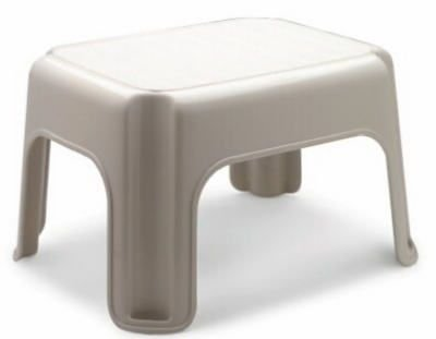 Rubbermaid Roughneck Step Stool, Bisque (FG420087BISQU) from Rubbermaid