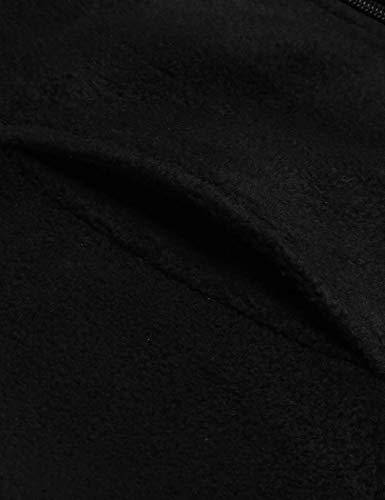 Vest FASHION4OL Stand Up Women Zipper Black Collar Outwear Lightweight Casual Gilet 77qpU8