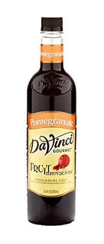 DaVinci Gourmet Fruit Innovations Syrup, Pomegranate, 25.4 Ounce - Pomegranate Monin