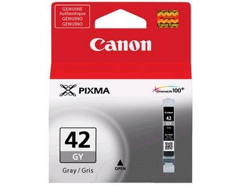 - Canon 6390B002 CLI-42 GRAY INK TANK - CARTRIDGE - FOR PIXMA PRO-100 INKJET PHOTO PRINTER - CLI-