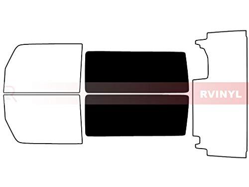 Rtint Window Tint Kit for Jeep Wrangler 2011-2018 (2 Door, JK) - Back Kit - 5%