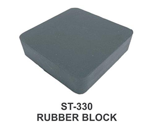 PARUU® RUBBER BLOCK FOR JEWELLERS 6X4X1