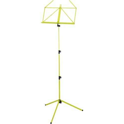 K&M Stands 10010.000.31 - Atril para partituras, color amarillo y verde
