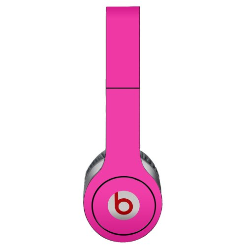 Hot Pink Decal Skin for Beats Solo HD Headphones by Dr. Dre