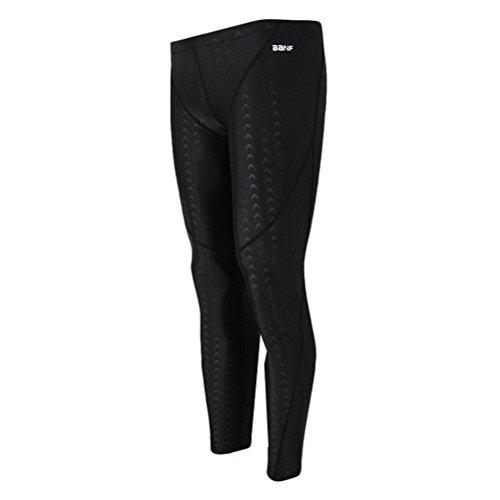 Zhuhaitf Professional Men Swimming Long Pants Beach Sharkskin Sports Pants - For Men Suit Professional