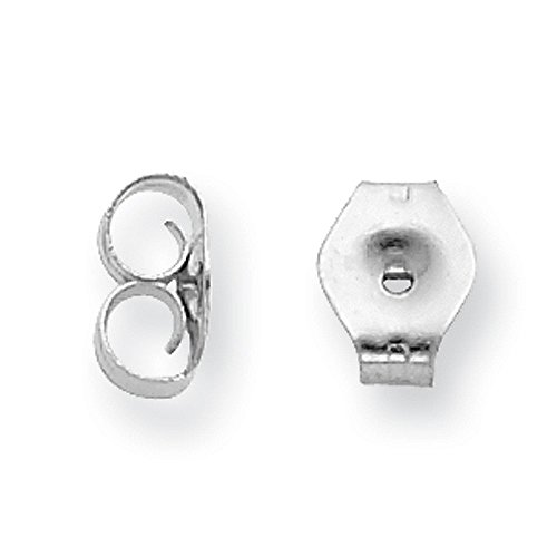 Sterling Silver 2.5mm Round Snap Set CZ Stud Earrings
