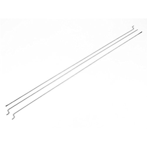 uxcell® 3Pcs 1.5mm Dia 300mm Long Stainless Steel Push Rods for RC Model Boat (Gas Boat Parts Rc)