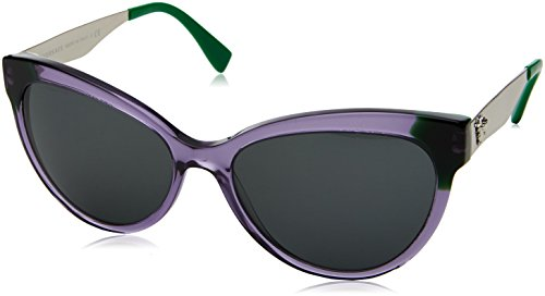 Violet Transparent Sonnenbrille Versace VE4338 Green TwPwqEUWtx