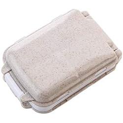 Dunnomart 1PC Portable Medicine Pill Box 7 Grids Travel Outdoor Pills Carrier Case Organizer Mini Holder Cases Rectangle