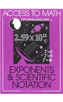 Access to Math: Exponents and Science Notation Se 96
