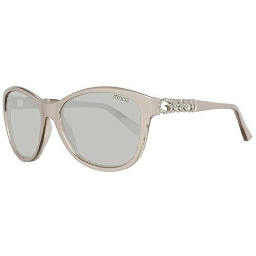 Guess GU7451 C58 57C (shiny beige / smoke mirror) Sonnenbrillen 4KnGuYpQZQ