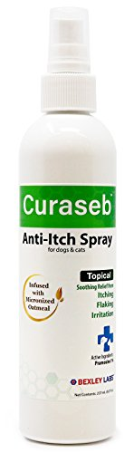 Curaseb Anti Itch Spray Oatmeal