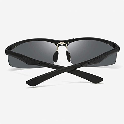De Gafas Sol Hombres Gafas De Las De Sol Las Las De Los De Sol UV400 WFFH De De Sol De Gafas De Gafas Aluminio De Las Que Gafas Sol Conducen Polarizadas 1xUC0n