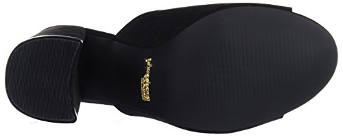 Sandalias Mujer Para Con Sandalo Negro Punta Primadonna Abierta vA4xw
