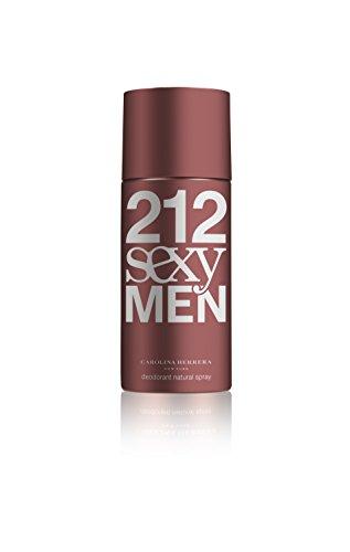Men Deodorant 212 - 212 Sexy by Carolina Herrera for Men. Deodorant Spray 5-Ounces