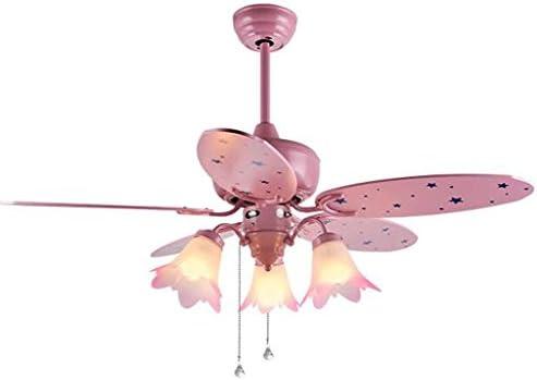 LAMP®-Ventilador de techo Niño de la niña de dibujos animados de ...