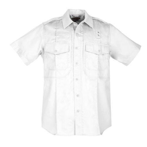 5.11 Camisa de manga corta de sarga PDU Clase B para hombre