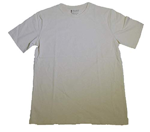 Hemp Mens Shirt - Men's Hemp Tee Shirt (Natural, L)