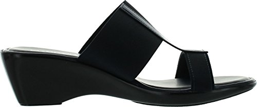 Italian Shoemakers Womens 170 Fashion Made In Italy Sandals,Navy,7