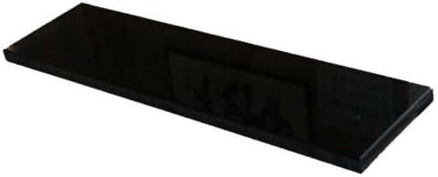アクアリウムボード アクアボード 天然黒御影石 (山西黒) 厚み約20mm 400×300mm 【受注オーダー製作】 石専門店.com