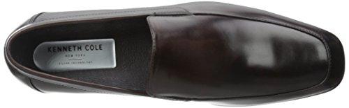 Kenneth Cole New York Mens Spela Fare Slip-on Loafer Brun