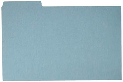 Pressboard Index Card Guides,Blank,1/3 Cut,8