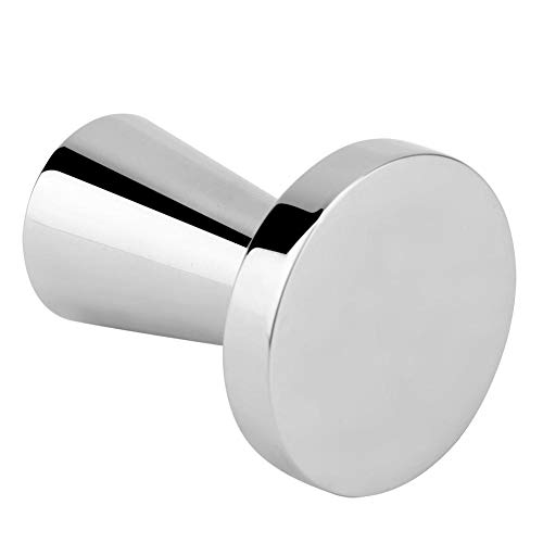 40MM Diameter Espresso Coffee Tamper, Stainless Steel Coffee Powder Hammer Tool Flat Base Coffee Bean Press Compatible with Dolce Gusto Machine Refillable Reusable