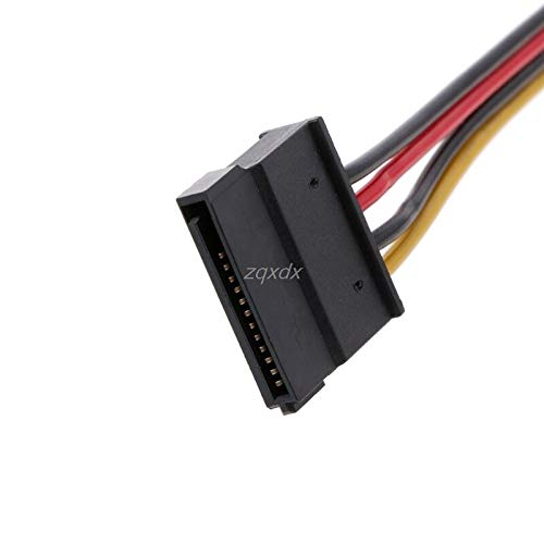 TL-ANALOG 4Pin FDD Floppy Male to 15Pin SATA Female Adapter Converter Hard Drive Power Cable Cord 20cm Z07 Drop Ship