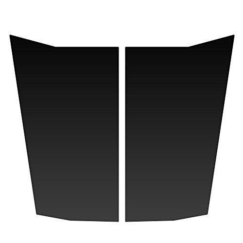 Chevy Blazer Decals - Auto Vynamics - CGM-701-MBLA - Matte Black Vinyl Hood Decal Kit - Chevrolet / Chevy Trailblazer - Mirrored Pair - (2) Piece Complete Kit