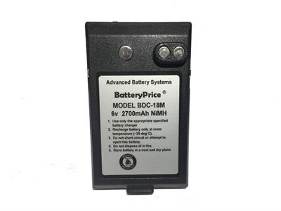 BatteryPrice Model BDC-18 Battery for Sokkia Total Stations. Assembles in USA. by BatteryPrice